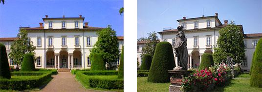 giardino villa clerici