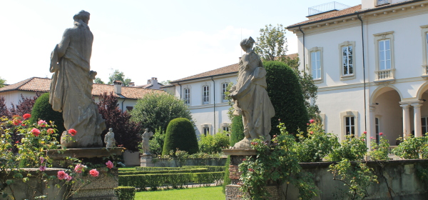 Fig. 1_Villa Clerici, giardino all'italiana