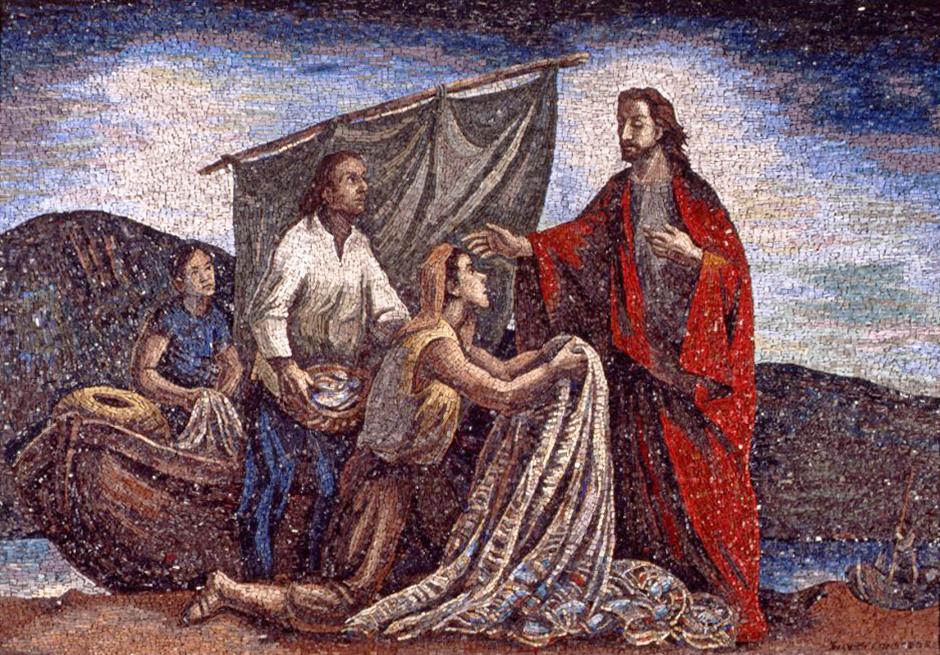 Silvio Consadori - La chiamata di San Pietro