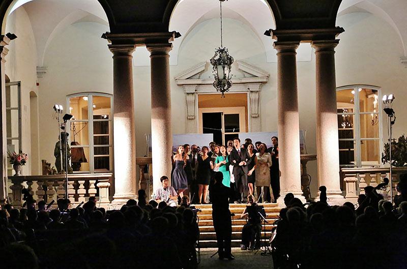 concerto villa clerici