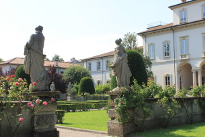Fig. 1_Villa Clerici, giardino all'italiana