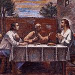 Silvio Consadori - Cena in Emmaus